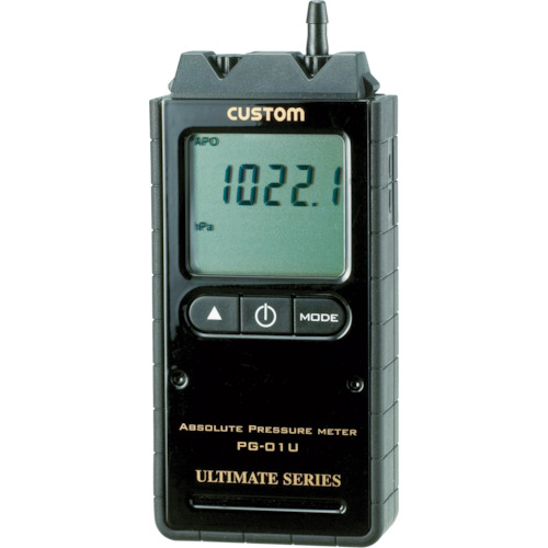 カスタム デジタル絶対圧計【PG01U】 販売単位:1個(入り数:-)JAN[4983621330014](カスタム 圧力計) (株)カスタム【05P03Dec16】