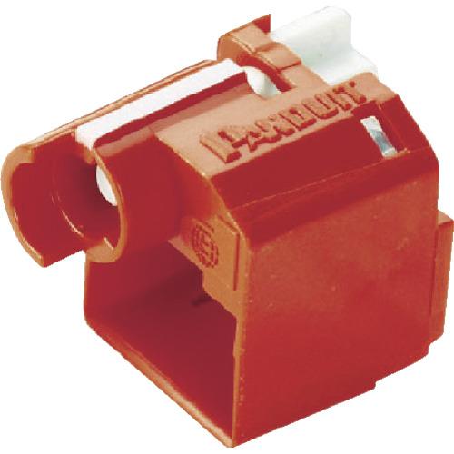 パンドウイット パッチコードロック 赤 100個入り【PSLDCPLRXC】 販売単位:1袋(入り数:100個)JAN[74983320059](パンドウイット モジュラージャック) パンドウイットコーポレーション【05P03Dec16】