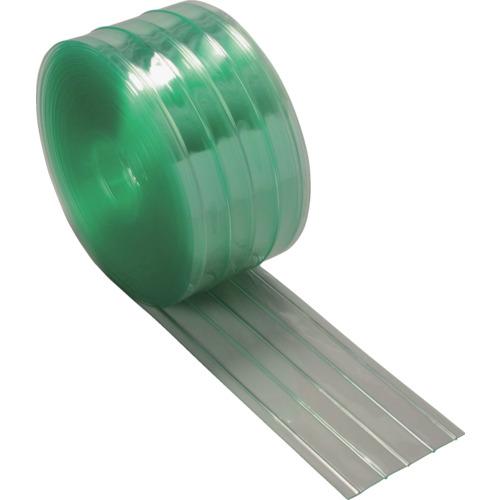 TRUSCO ストリップ型リブ付き間仕切りシート静電透明3X300X30M【TSR33030】 販売単位:1巻(入り数:-)JAN[-](TRUSCO 間仕切り) トラスコ中山(株)【05P03Dec16】