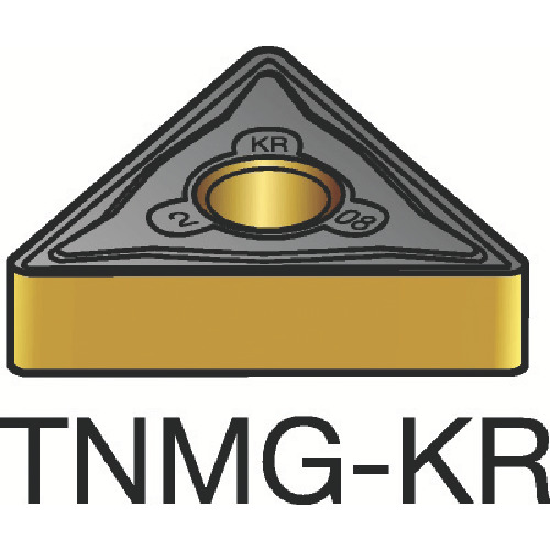 サンドビック T-Max P 旋削用ネガ・チップ 3210【TNMG220412KR(3210)】 販売単位:10個(入り数:-)JAN[-](サンドビック チップ) サンドビック(株)【05P03Dec16】