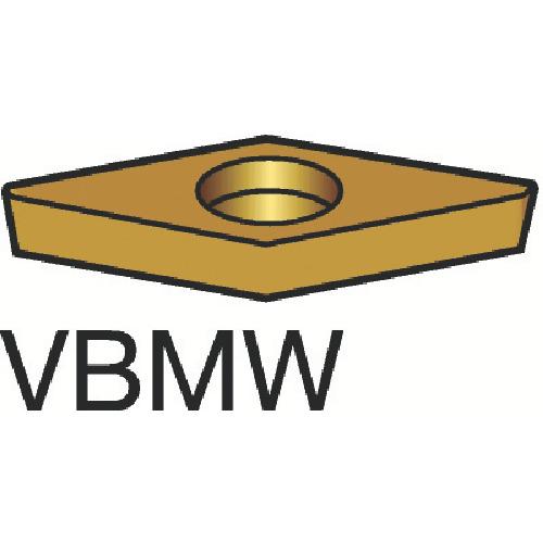 サンドビック コロターン107 旋削用ポジ・チップ H13A【VBMW160404(H13A)】 販売単位:10個(入り数:-)JAN[-](サンドビック チップ) サンドビック(株)【05P03Dec16】