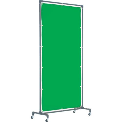 TRUSCO 溶接遮光フェンス 1020型単体 緑【YFBGN】 販売単位:1台(入り数:-)JAN[4989999170351](TRUSCO 溶接遮光フェンス) トラスコ中山(株)【05P03Dec16】