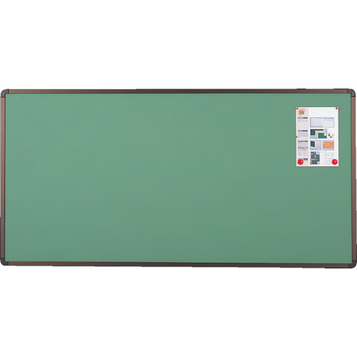 TRUSCO ブロンズ掲示板 900X1800 グリーン【YBE36SGM】 販売単位:1枚(入り数:-)JAN[4989999787092](TRUSCO 掲示板) トラスコ中山(株)【05P03Dec16】