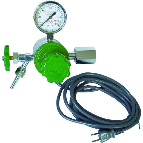 ヒーター付圧力調整器 YR-507V【YR507V】 販売単位:1個(入り数:-)JAN[4560125828096](ヤマト ガス調整器) ヤマト産業(株)【05P03Dec16】