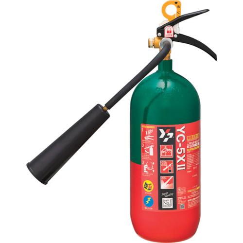 ヤマト 二酸化炭素消火器5型【YC5X2】 販売単位:1本(入り数:-)JAN[4931554007770](ヤマト 消火器) ヤマトプロテック(株)【05P03Dec16】