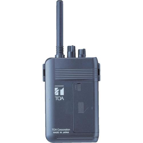 TOA 携帯型送信機(ツーピース型)【WM1100】 販売単位:1台(入り数:-)JAN[4538095000460](TOA トランシーバー) TOA(株)【05P03Dec16】