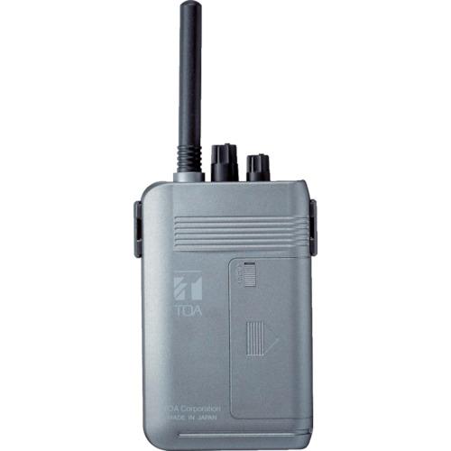 TOA 携帯型受信機(高機能型)【WT1100】 販売単位:1台(入り数:-)JAN[4538095000477](TOA トランシーバー) TOA(株)【05P03Dec16】