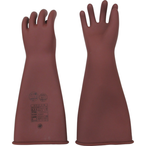 YOTSUGI 高圧ゴム手袋 455MM 中【YS1012201】 販売単位:1双(入り数:-)JAN[-](YOTSUGI 耐電保護具) ヨツギ(株)【05P03Dec16】
