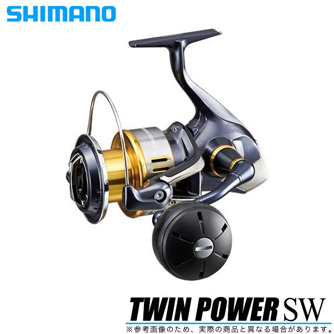 (5)シマノ ツインパワーSW (6000HG) /スピニングリール/ソルトウォーター/ルアー/TWINPower SW/SHIMANO/NEW/2015年モデル/