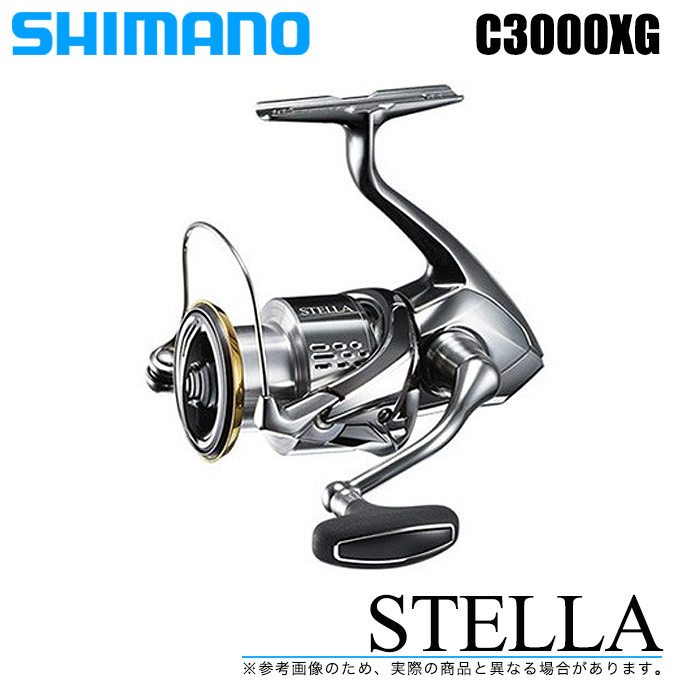 marunishi: (5)SHIMANO Stella C3000XG (2018 model) / spinning reel