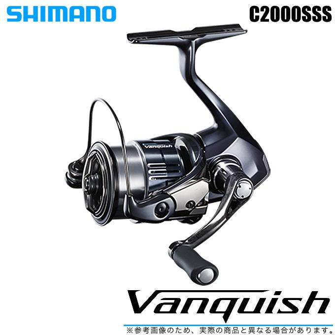クイックレスポンスシリーズのフラッグシップ 5 シマノ 19 ヴァンキッシュ C2000SSS 2019年モデル 汎用 年末年始大決算 NEW Vanquish 美品 バンキッシュ スピニングリール SHIMANO