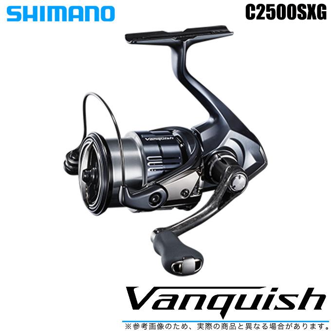 (5)シマノ 19 ヴァンキッシュ C2500SXG 2019年モデル (スピニングリール) /SHIMANO/NEW Vanquish/バンキッシュ/汎用/