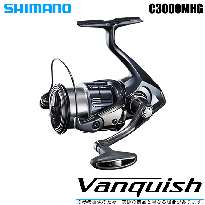 (5)【送料無料】シマノ 19 ヴァンキッシュ C3000MHG (2019年モデル) /スピニングリール/SHIMANO/NEW Vanquish/バンキッシュ/汎用/
