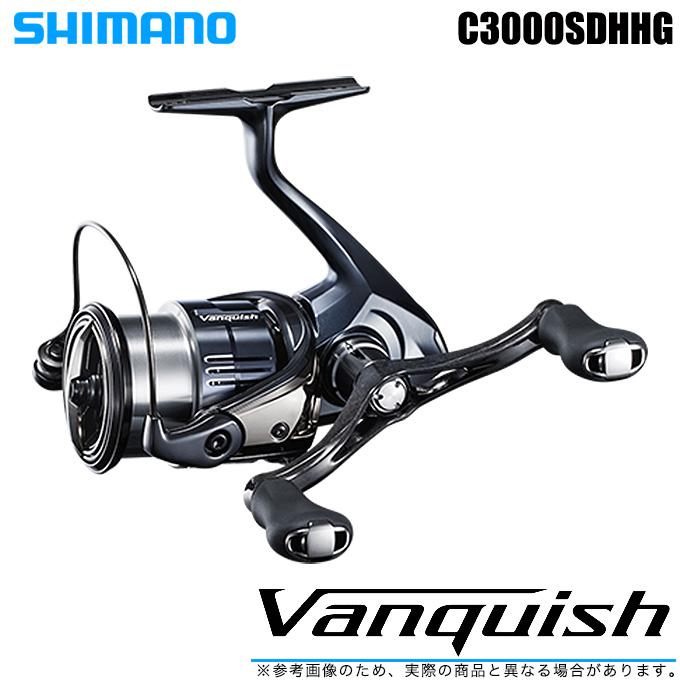 (5)【送料無料】 シマノ 19 ヴァンキッシュ C3000SDHHG (2019年モデル) /スピニングリール/SHIMANO/NEW Vanquish/バンキッシュ/汎用/