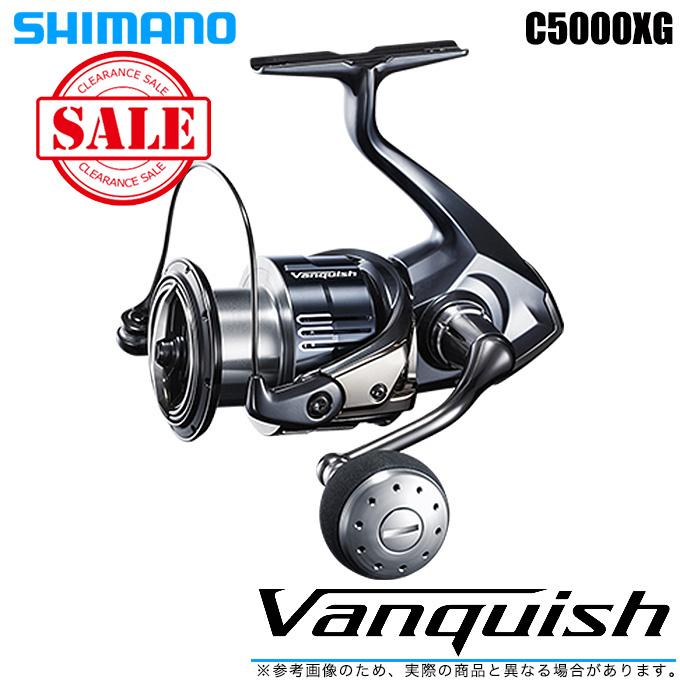 (5)【送料無料】シマノ 19 ヴァンキッシュ C5000XG (2019年モデル) /スピニングリール/SHIMANO/NEW Vanquish/バンキッシュ/汎用/