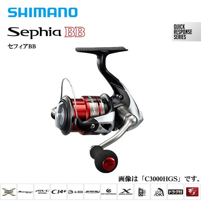 禧瑪諾 13' 球 BB C3000HGS / 紡車輪 / 2013 年,型號 SEPHIA BB/禧瑪諾