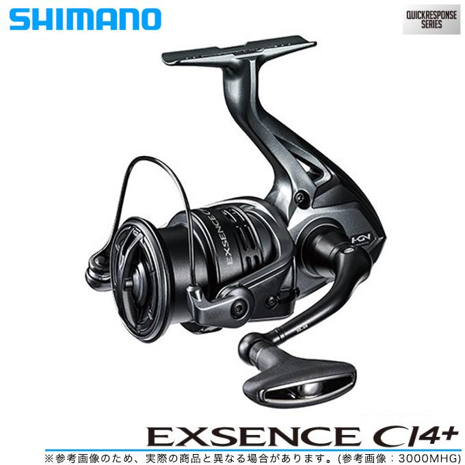 (5)【送料無料】 シマノ エクスセンス CI4+ 3000MHG (2018年モデル) /スピニングリール/SHIMANO/EXSENCE CI4+/NEW/s1s2