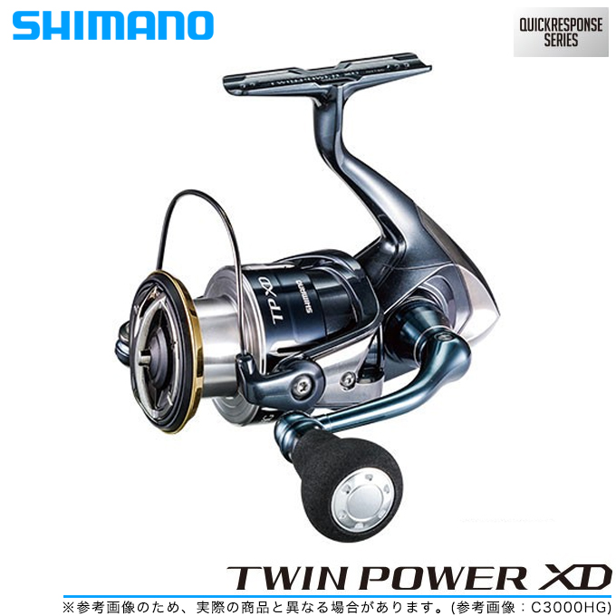 (5) SHIMANO 17' twin power XD (4000XG)  / spinning reel / salt water / lure  /TWINPower XD/SHIMANO/NEW/2017 age model /