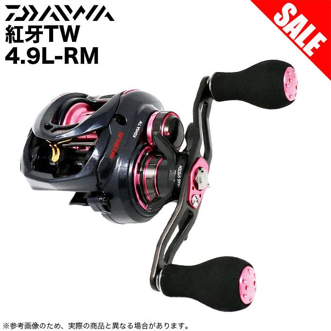 (6)ダイワ 紅牙 TW(7.3L)(左ハンドル) /ベイトリール/タイラバ/マダイ/ソルト対応/DAIWA/2017年モデル