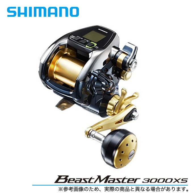 <title>送料無料限定セール中 確固たるパワーにプラスした さらなるパワーとハイスピード 5 送料無料 シマノ 16' ビーストマスター3000XS 電動リール 2016年モデル BeastMaster SHIMANO</title>