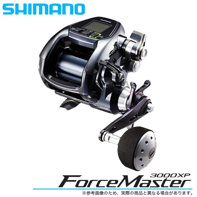 (5) シマノ フォースマスター 3000XP (2017年モデル) /電動リール/船釣り/SHIMANO/ForceMaster/