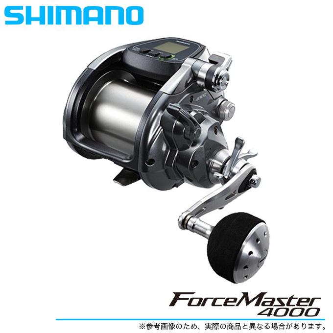 (5)【送料無料】シマノ フォースマスター 4000 /電動リール/船釣り/SHIMANO/ForceMaster
