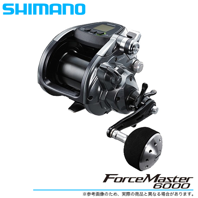 (5)【送料無料】 シマノ フォースマスター 6000 /電動リール/船釣り/SHIMANO/ForceMaster