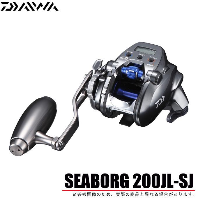(5) ダイワ シーボーグ 200JL-SJ 左ハンドル 2018年モデル/電動リール/電動ジギング/船釣り/SEABORG/DAIWA
