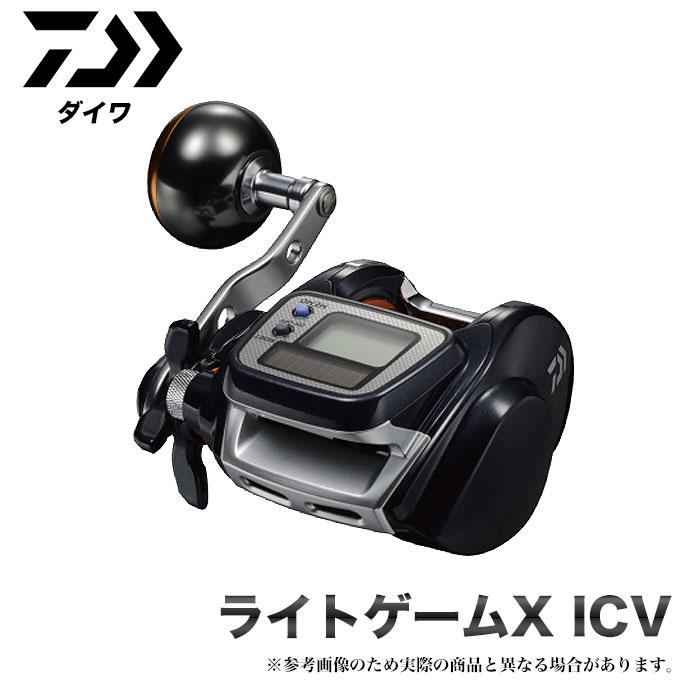 【取り寄せ商品】 ダイワ ライトゲームX ICV 300 (右ハンドル) /船用小型両軸リール/カウンター付き/DAIWA/LIGHTGAME X ICV