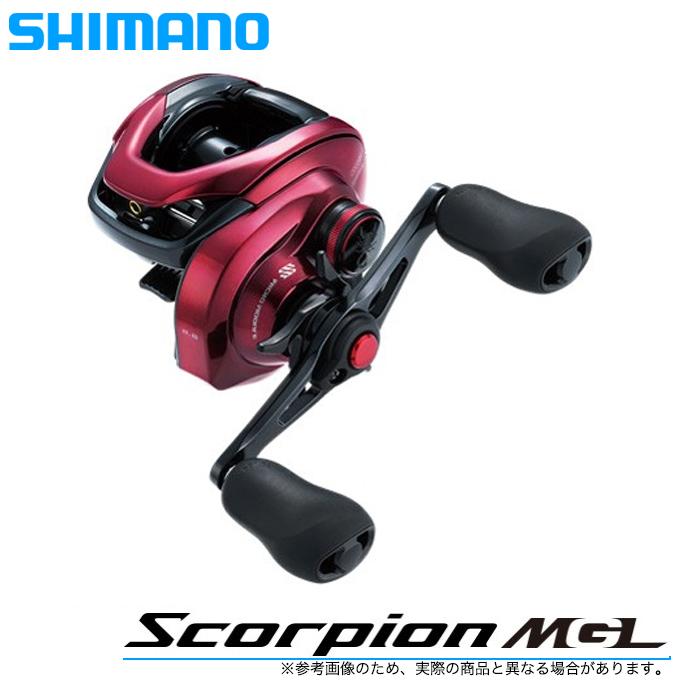 (5)シマノ 19 スコーピオンMGL 151HG LEFT (左ハンドル)(2019年モデル) /ベイトキャスティングリール/釣り/ブラックバス/Scorpion/SHIMANO/NEW