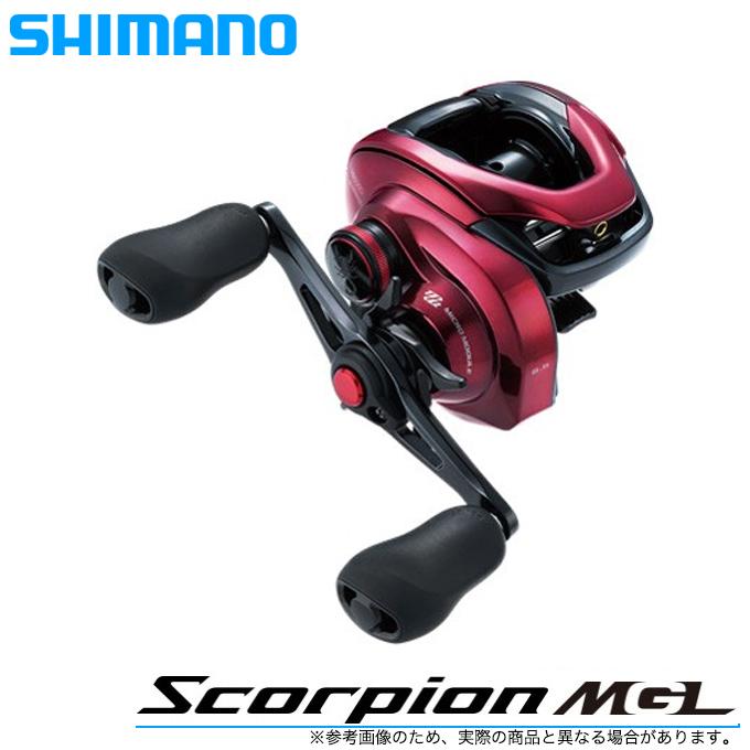 (5)シマノ 19 スコーピオンMGL 150XG RIGHT (右ハンドル)(2019年モデル) /ベイトキャスティングリール/釣り/ブラックバス/Scorpion/SHIMANO/NEW