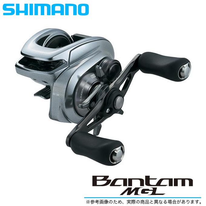 (5) シマノ バンタム MGL LEFT (左ハンドル)(ギア比:6.2) 2018年モデル /ベイトキャスティングリール/ブラックバス/BANTAM MGL/SHIMANO/NEW/釣り/