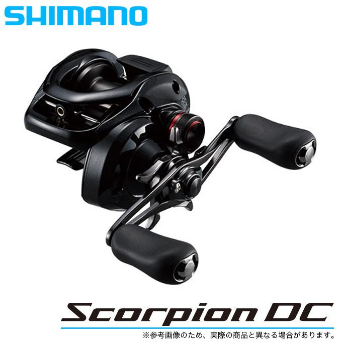 (5)シマノ 17 スコーピオンDC 101 LEFT (左ハンドル) (2017年モデル) /ベイトキャスティングリール/釣り/ブラックバス/Scorpion DC/SHIMANO/NEW