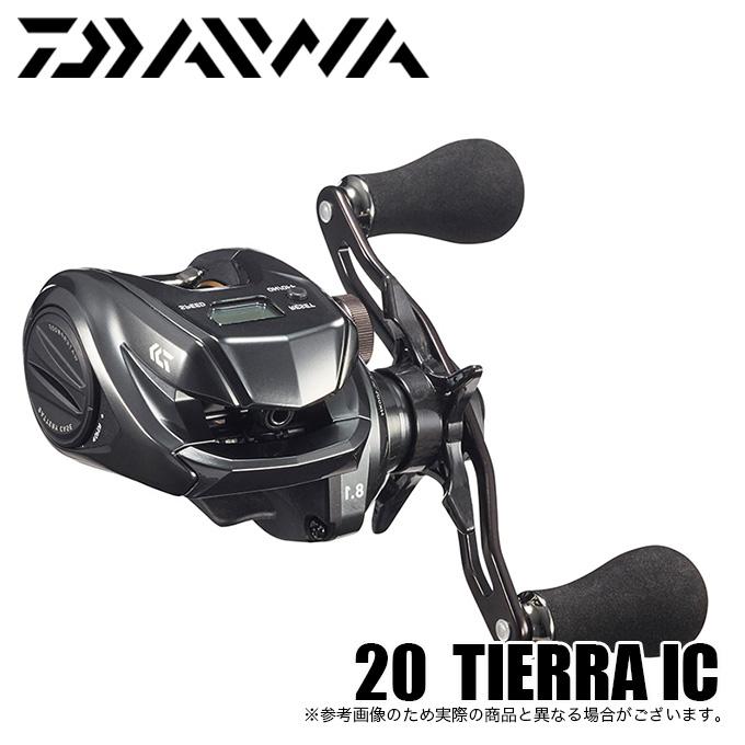 (5)ダイワ 20 ティエラ IC 105XHL (左ハンドル) 2020年モデル/カウンター付き小型両軸リール /ベイトリール/タイラバ/マダイ/ソルト対応