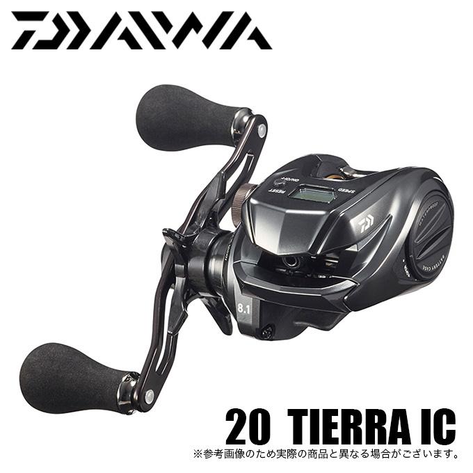 (5)ダイワ 20 ティエラ IC 105XH (右ハンドル) 2020年モデル/カウンター付き小型両軸リール /ベイトリール/タイラバ/マダイ/ソルト対応