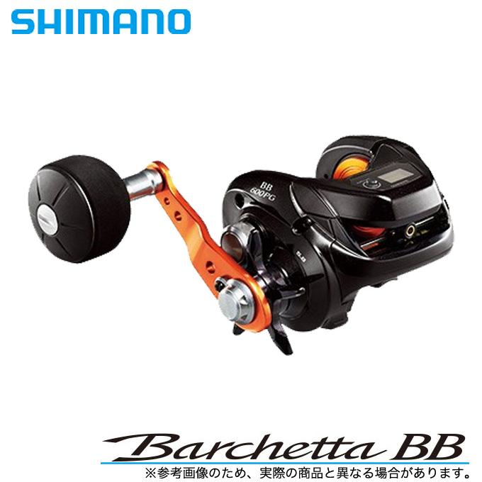 (5)シマノ 17 バルケッタ BB (600HG)(右ハンドル)  (2017年モデル)(シングルハンドル) /船釣り/両軸リール/イカメタル/メタルスッテ/タイラバ/ライトジギング/小型/SHIMANO BARCHETTA BB/