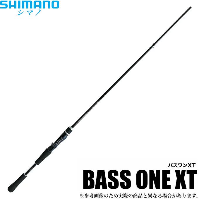 (5) シマノ バスワンXT ベイト (1610H-2) /2018年モデル/バスロッド/釣り竿/ブラックバス/BASS ONE XT/SHIMANO