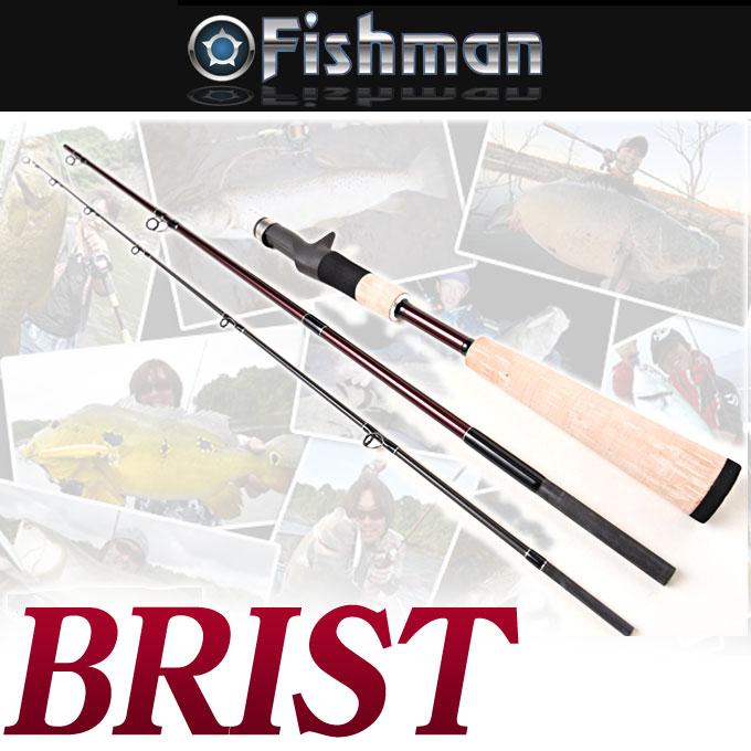(5)【送料無料】Fishman(フィッシュマン) ブリスト [FBR-510LH] ベイトロッド /怪魚/釣り竿/