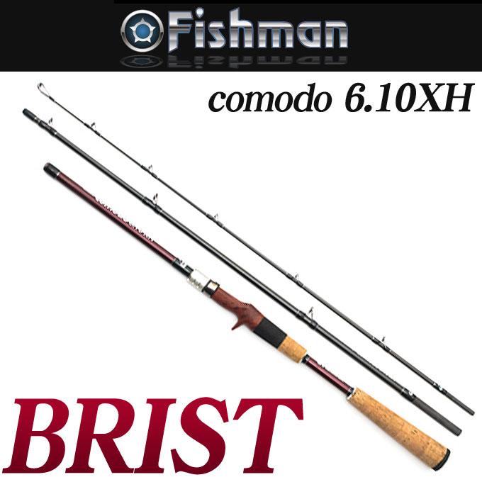 安いそれに目立つ (5)【送料無料 6.10XH]】Fishman(フィッシュマン) ブリスト [comodo ベイトロッド 6.10XH] ベイトロッド ブリスト/コモド 怪魚 釣り竿, ラブリードール:b7f19d96 --- canoncity.azurewebsites.net