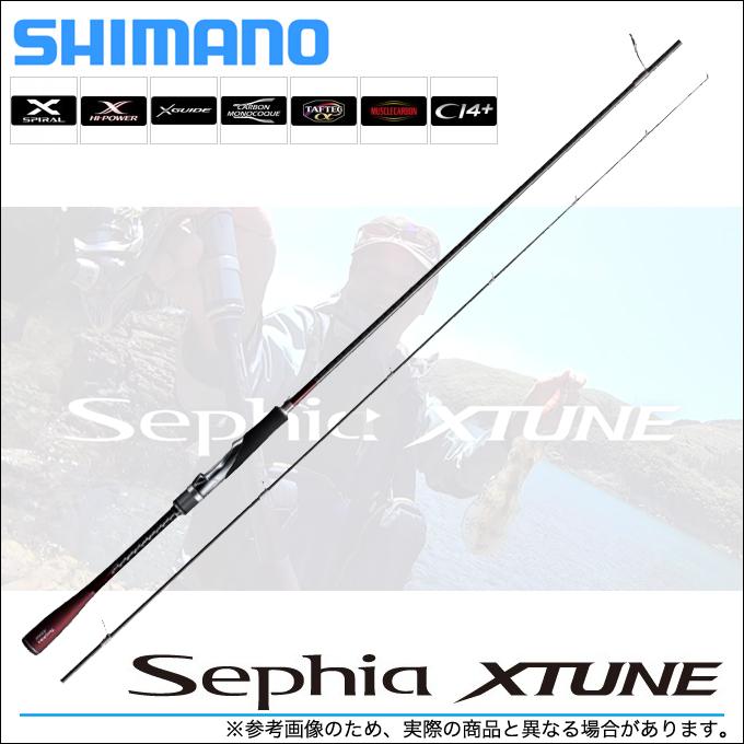 (5) シマノ セフィア エクスチューン (S808L+) (2018年追加モデル) /エギングロッド/釣り竿/餌木/SHIMANO/Sephia XTUNE/ショア侍/JOE/ジョー/湯川マサタカモデル/