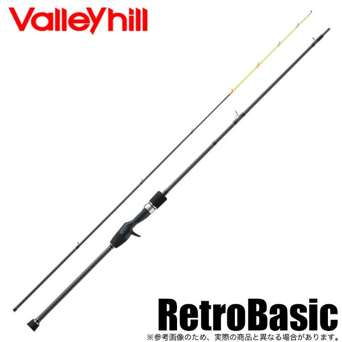 (5)バレーヒル レトロベーシック イカメタル RBC-60MT (ベイトモデル/2019年モデル) /ロッド/ベイトロッド/釣り竿/エギング/イカメタル/Valleyhill