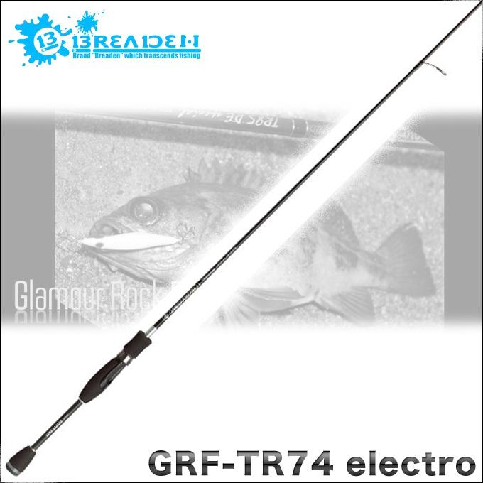 buriden GRF-TR74electro GlamourRockFish TR Leon's Concept/鱼竿/钓竿/erekutoro/mebaringu/ajingu/灯游戏/语法锁头鱼