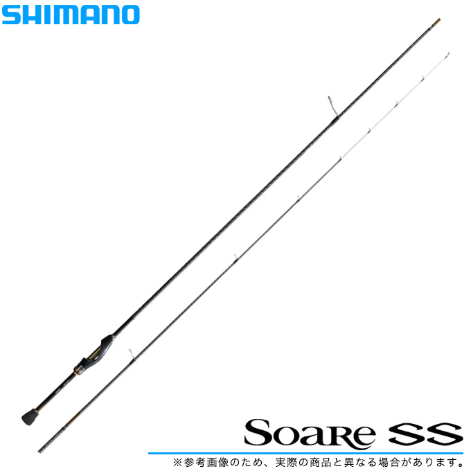 (5) シマノ ソアレSS S76ML-S /2018年モデル/メバリングロッド/ライトゲームロッド/釣り竿 /SHIMANO/Soare SS/2018年モデル/
