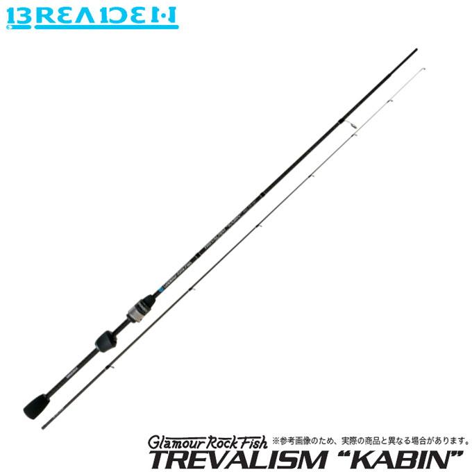 (5) ブリーデン Glamour Rock Fish TREVALISM KABIN 606 TS-tip (チタンソリッドティップモデル) /アジングロッド/2019年モデル/グラマーロックフィッシュ トレバリズム キャビン