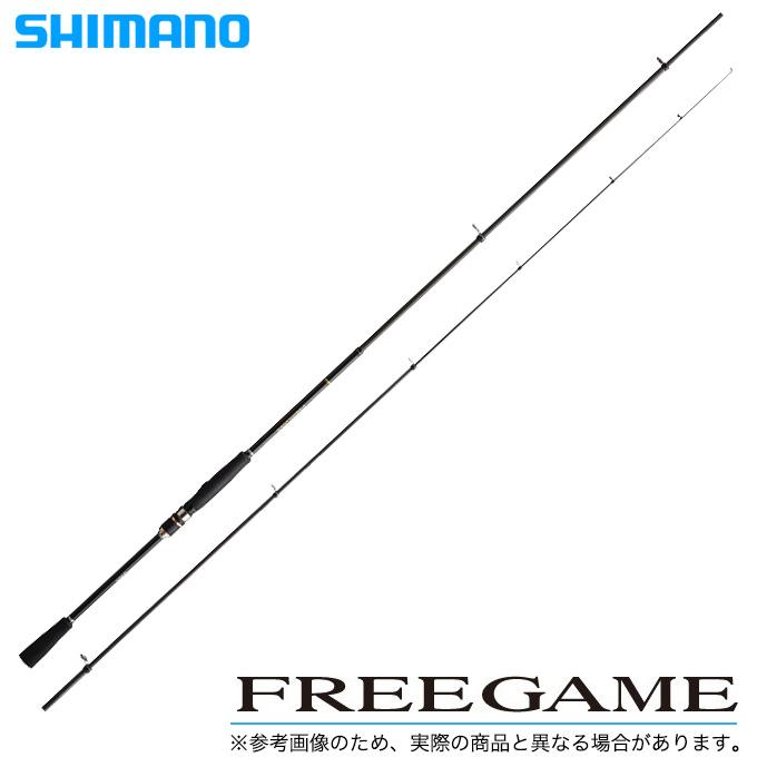 (5) シマノ フリーゲーム S96M-4 /スピニングモデル/2018年モデル/シーバス/エギング/ロックフィッシュ/タチウオ/ ロッド/釣り竿/SHIMANO/FREEGAME/