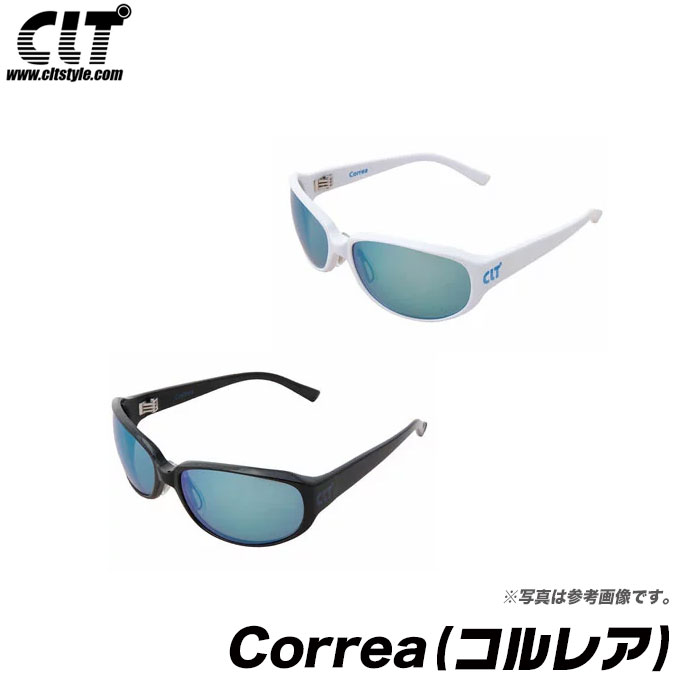 (5)【送料無料】 CLT Correa (コルレア) フレーム:ブラック レンズ:グリーンスモーク/ブルーミラー 偏光グラス/サングラス