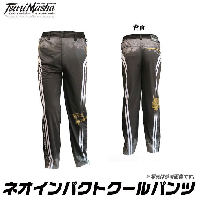 (5)釣武者 ネオIMPACTクールパンツ (カラー:ブラック) /TSURIMUSYA/ネオインパクトクーパンツ/衣類/