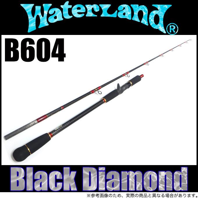 (5) ウォーターランド ブラックダイアモンド B604 2019年追加モデル (ベイトモデル/ジギングロッド)