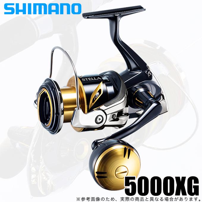 (5)シマノ 20 ステラSW 5000XG (2020年追加モデル) スピニングリール ジギング/オフショアキャスティング/ショアプラッキング/ /ソルトウォーター/ソルトルアー/SHIMANO/STELLA/
