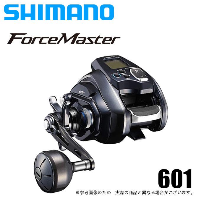 (5)【送料無料】シマノ フォースマスター 601 (左ハンドル) 2020年モデル/電動リール /SHIMANO/Force Master/船釣り/